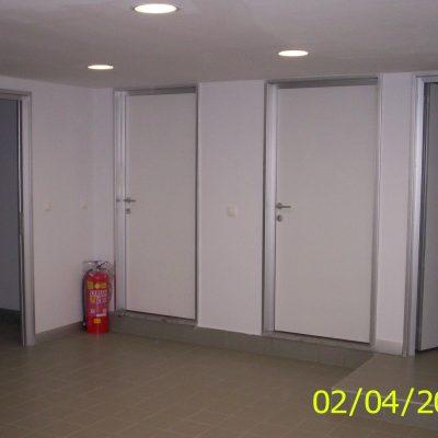 alüminyum kasalı laminat kapı