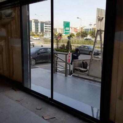 kayar çift kapı