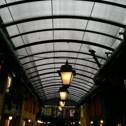 cam çatı