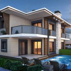 dubleks-villa