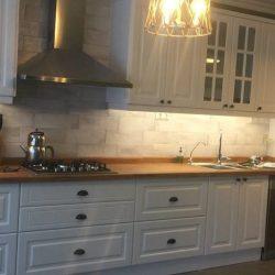 lake kapaklı mutfak dekorasyonu